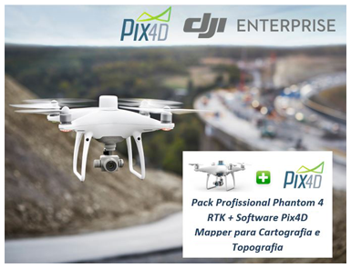 Phantom 4 RTK + Pix4D Mapper